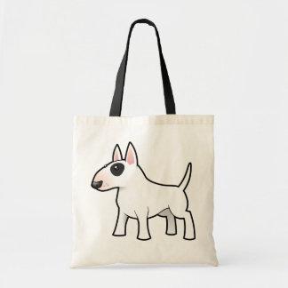 Cartoon Bull Terrier Budget Tote Bag