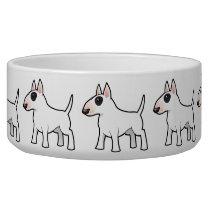Cartoon Bull Terrier Bowl