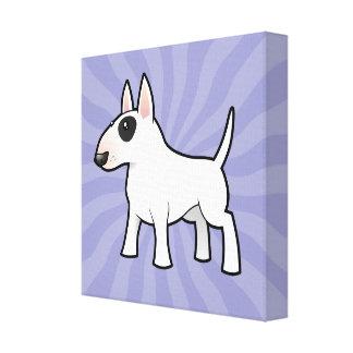 Cartoon Bull Terrier Canvas Print