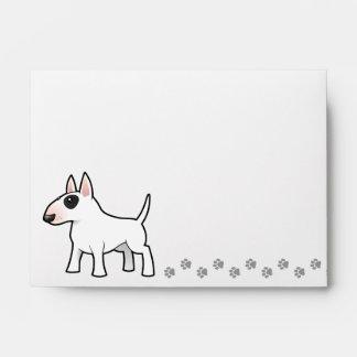 Cartoon Bull Terrier Envelope
