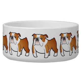 Cartoon Bulldog Bowl