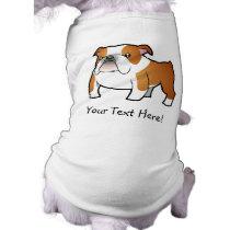 Cartoon Bulldog Tee
