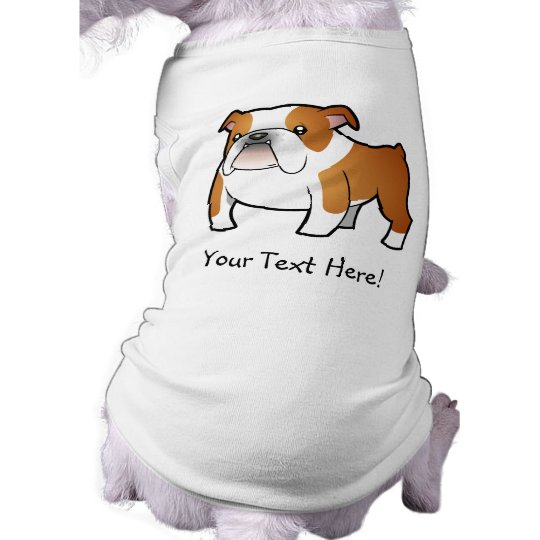 Cartoon Bulldog Tee