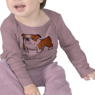 Cartoon Bulldog T Shirts