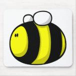 Cartoon Bumble Bee Mouse Pad