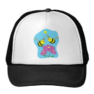 Cartoon Bumble Bees Trucker Hat