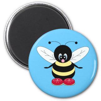 Cartoon Bumblebee Magnet