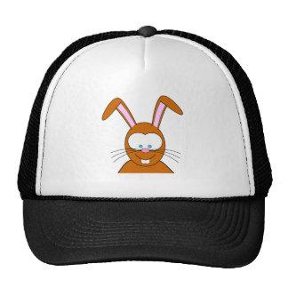 Cartoon Bunny Rabbit Face Mesh Hats