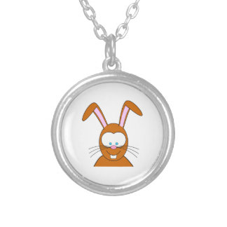 Cartoon Bunny Rabbit Face Personalized Necklace