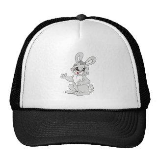 Cartoon Bunny Rabbit Trucker Hat