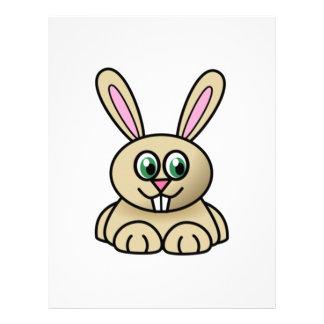 Cartoon Bunny Rabbit Letterhead Design