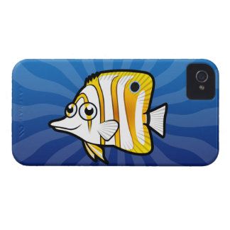 Cartoon Butterflyfish Case-Mate iPhone 4 Case