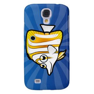 Cartoon Butterflyfish Galaxy S4 Cover