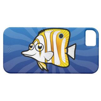 Cartoon Butterflyfish iPhone SE/5/5s Case