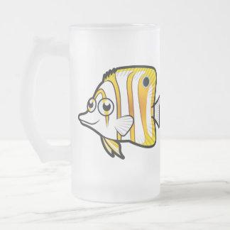 Cartoon Butterflyfish Coffee Mug