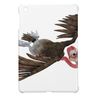Cartoon Buzzard Flying Seen from Above iPad Mini Cover