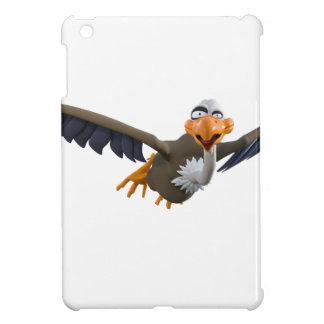 Cartoon Buzzard Flying Seen from Below iPad Mini Covers