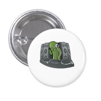 Cartoon Cactus DJ Pins