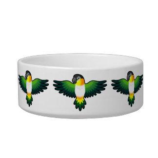 Cartoon Caique / Lovebird / Pionus / Parrot Bowl