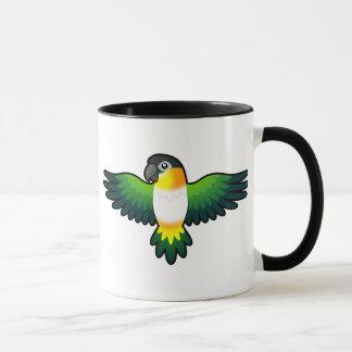 Cartoon Caique / Lovebird / Pionus / Parrot Mug