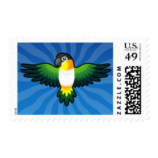 Cartoon Caique / Lovebird / Pionus / Parrot Postage