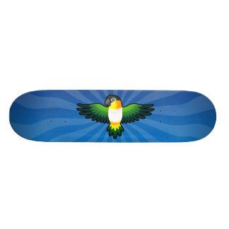 Cartoon Caique / Lovebird / Pionus / Parrot Skateboard Deck