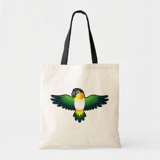 Cartoon Caique / Lovebird / Pionus / Parrot Tote Bag