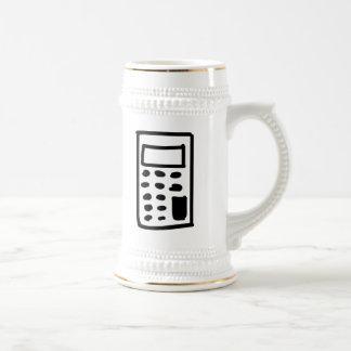 Cartoon Calculator Coffee Mugs