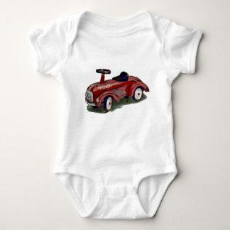 Cartoon car baby bodysuit