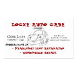cartoon car Double-Sided standard business cards (Pack of 100)