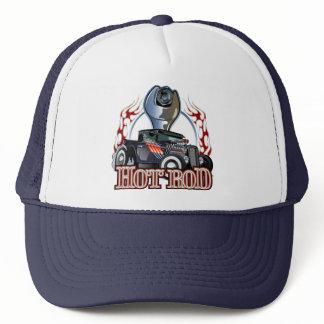 Cartoon car trucker hat
