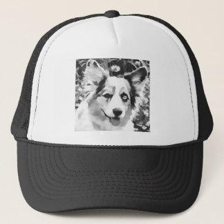 Cartoon Cardigan Trucker Hat