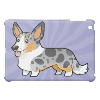 Cartoon Cardigan Welsh Corgi iPad Mini Case