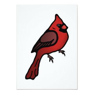 Cartoon Cardinal Design Card
