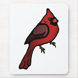 Cartoon Cardinal Design Mousepad