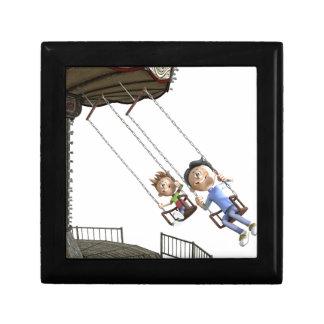 Cartoon Carousel Swing Gift Box
