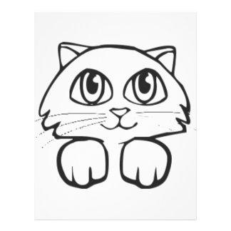 Cartoon Cat Flyer