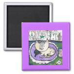 Cartoon Cat Fridge Magnets