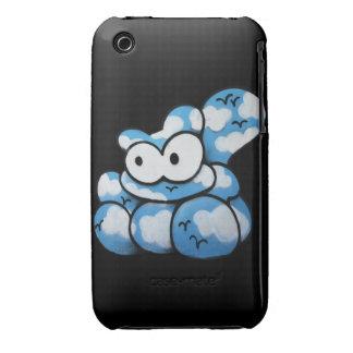 Cartoon Cat Graffiti Blackberry Curve Case-Mate Ca iPhone 3 Case