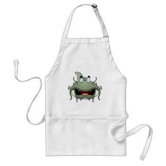 Cartoon Catfish Adult Apron