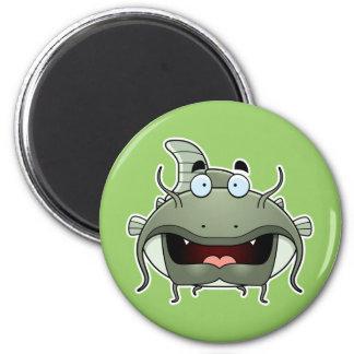 Cartoon Catfish Magnets