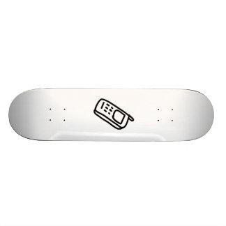 Cartoon Cell Phone Skateboards