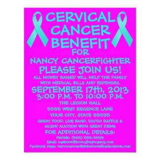 Cartoon Cervical Cancer Benefit Flyer