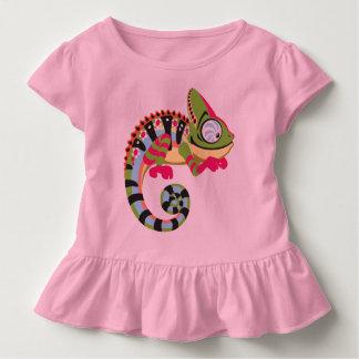 cartoon chameleon toddler t-shirt