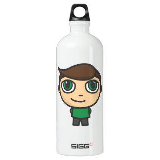 Cartoon Character Boy Liberty Water Bottle