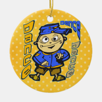 Cartoon Character Dance Christmas Tree Ornaments