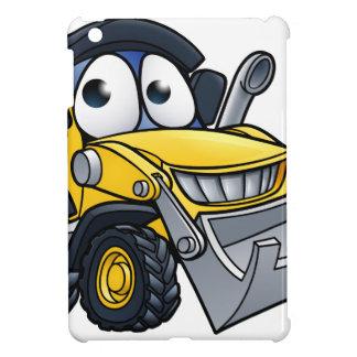 Cartoon Character Digger Bulldozer iPad Mini Case