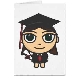 Cartoon Character Graduation Card