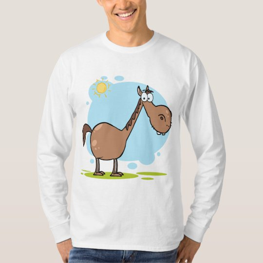 Cartoon Character Horse T-Shirt