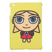 Cartoon Character School Girl iPad Mini Case For The iPad Mini